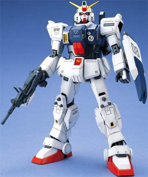 Gundam Model Kit Action Figure Master Grade 1/100 Scale - Gundam RX-79(G) E.F.S.F. First Production Mobile Suit