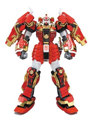 Gundam Model Kit Action Figure Master Grade 1/100 Scale - Shin Musha Gundam Sengoku No Jin