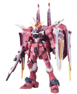 Gundam Model Kit Action Figure Real Grade 1/144 Scale #09 Justice Gundam Z.A.F.T. Mobile Suit ZGMF-X09A (Gundam Seed)