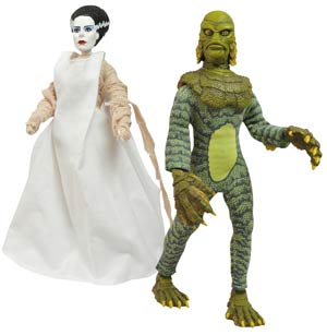 Universal Monsters Cloth Retro Series 3 Bride Of Frankenstein Action Figure