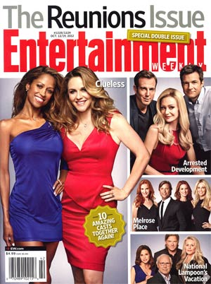 Entertainment Weekly #1228 / #1229 Oct 12 / Oct 19 2012