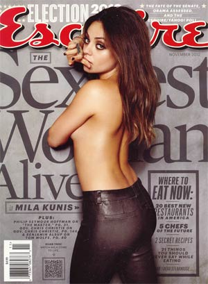 Esquire Vol 158 #4 Nov 2012