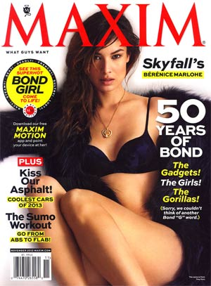 Maxim Magazine #178 Nov 2012
