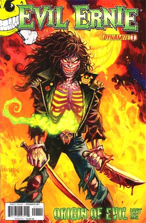 Evil Ernie Vol 3 #1 Regular Dan Brereton Cover