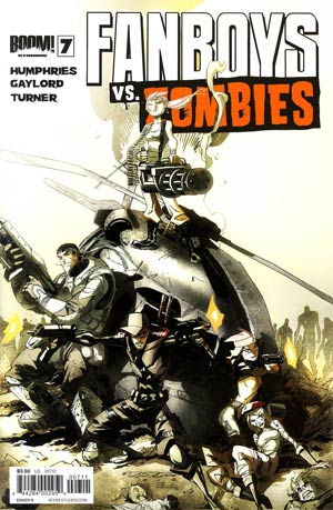 Fanboys vs Zombies #7 Regular Cover A Khary Randolph