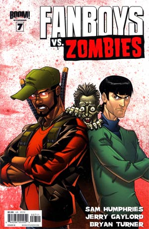 Fanboys vs Zombies #7 Regular Cover B Eddie Nunez