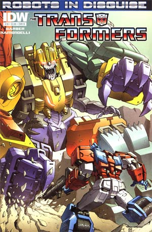 Transformers Robots In Disguise #10 Regular Cover B Casey Coller