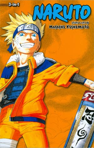 Naruto 3-In-1 Edition Vols 10 - 11 - 12 TP