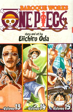 One Piece Baroque Works 13-14-15 TP