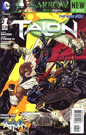 Talon #1 Incentive Trevor McCarthy Variant Cover