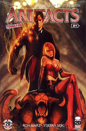 Artifacts #21 NYCC Exclusie Stjepan Sejic Variant Cover