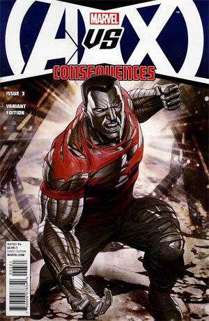 AVX Consequences #3 Incentive Adi Granov Variant Cover