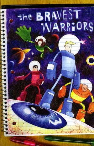 Bravest Warriors #1 Incentive Jim Rugg Variant Cover