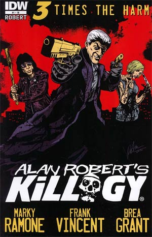 Alan Roberts Killogy #1 Incentive Alan Robert Variant Cover