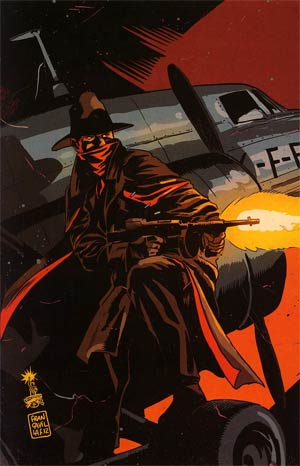 Shadow Vol 5 #6 Incentive Francesco Francavilla Virgin Cover