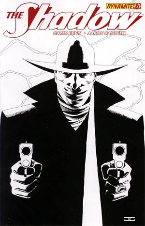 Shadow Vol 5 #6 Incentive John Cassaday Black & White Cover