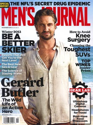 Mens Journal Vol 21 #10 Nov 2012