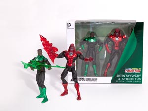 Green Lantern 2-Pack John Stewart And Atrocitus NYCC 2012 Exclusive Action Figure