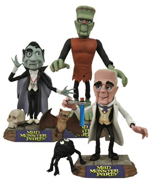 Mad Monster Party Select Fang Action Figure