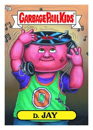 Garbage Pail Kids Stickers Series 1 Trading Cards Pack