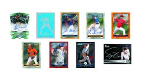 Bowman 2012 Chrome Baseball Trading Cards Pack