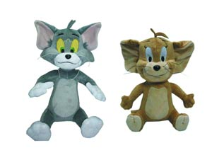 Hanna-Barbera Tom & Jerry 12-Inch Plush Deluxe Set