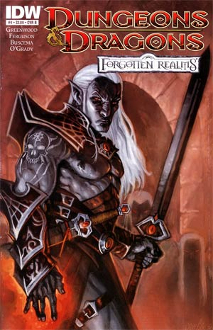 Dungeons & Dragons Forgotten Realms #4 Regular Cover B Steve Ellis