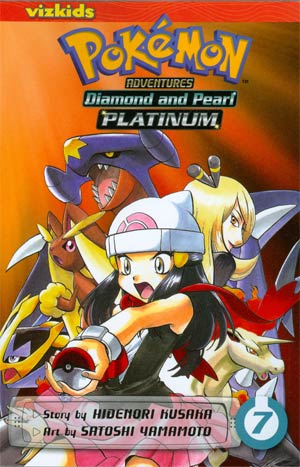 Pokemon Adventures Diamond And Pearl Platinum Vol 7 GN
