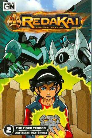 Redakai Conquer The Kairu Vol 2 Tiger Terror GN