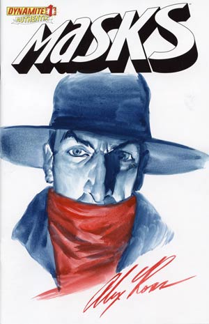 Masks #1 Incentive Alex Ross Hand-Painted Cover - Shadow
