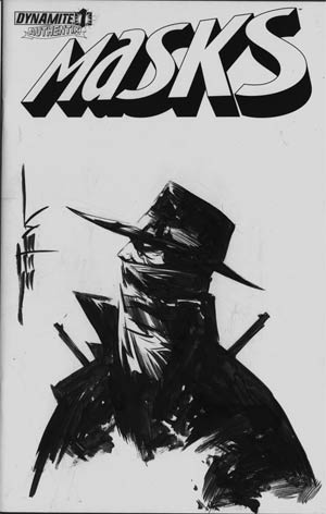 Masks #1 Incentive Jae Lee Hand-Drawn Cover - Shadow A