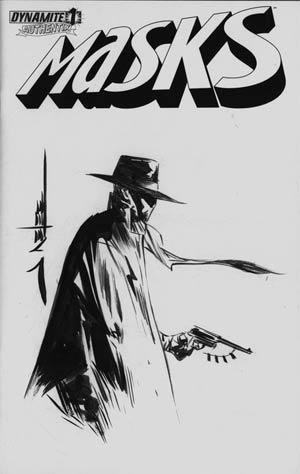 Masks #1 Incentive Jae Lee Hand-Drawn Cover - Green Hornet