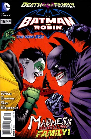 Batman And Robin Vol 2 #16 (Death Of The Family Tie-In)
