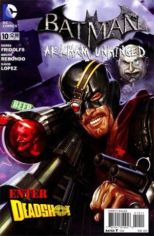 Batman Arkham Unhinged #10