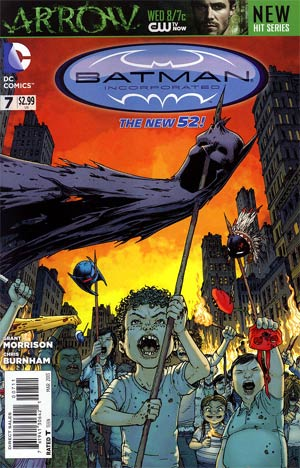 Batman Incorporated Vol 2 #7 Regular Chris Burnham Cover