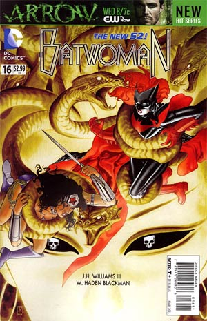 Batwoman #16 Regular JH Williams III Cover