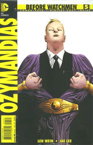 Before Watchmen Ozymandias #5 Combo Pack With Polybag
