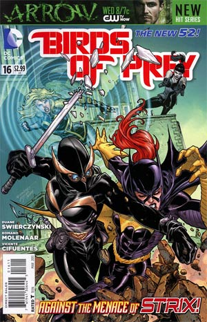 Birds Of Prey Vol 3 #16