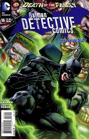 Detective Comics Vol 2 #16 Regular Jason Fabok Cover (Death Of The Family Tie-In)