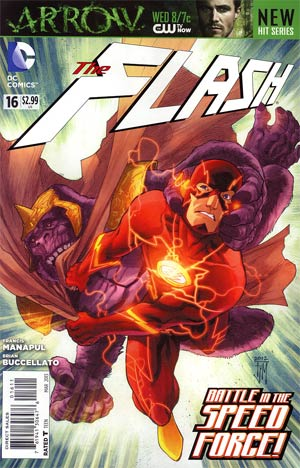Flash Vol 4 #16 Regular Francis Manapul Cover