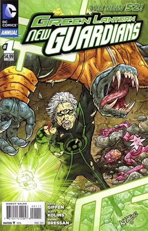 Green Lantern New Guardians Annual #1