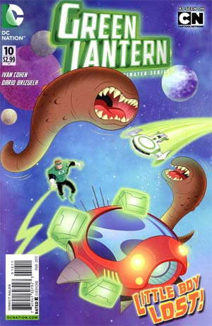 Green Lantern The Animated Series #10