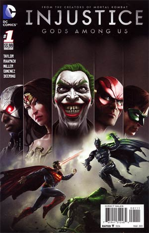 Injustice Gods Among Us #1 1st Ptg Regular Jheremy Raapack Cover