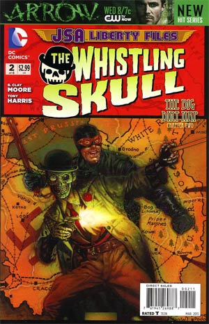 JSA The Liberty Files The Whistling Skull #2