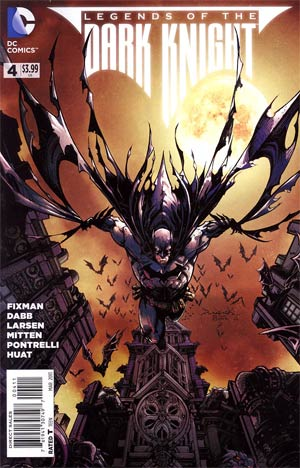 Legends Of The Dark Knight #4