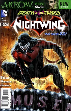 Nightwing Vol 3 #16 (Death Of The Family Tie-In)