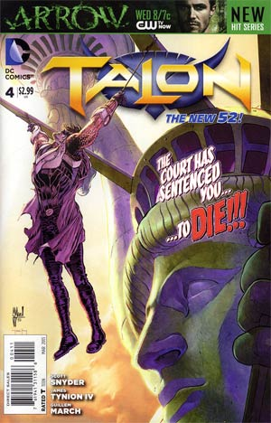 Talon #4 Regular Guillem March Cover