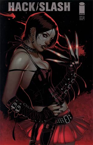 Hack Slash Vol 2 #23 Cvr A Elizabeth Torque