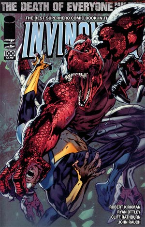 Invincible #100 1st Ptg Cover D Bryan Hitch