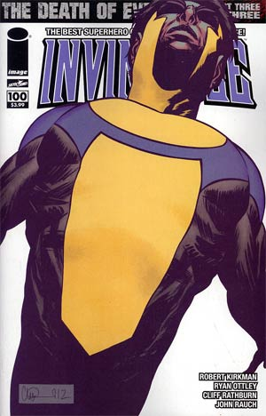 Invincible #100 1st Ptg Cover F Charlie Adlard